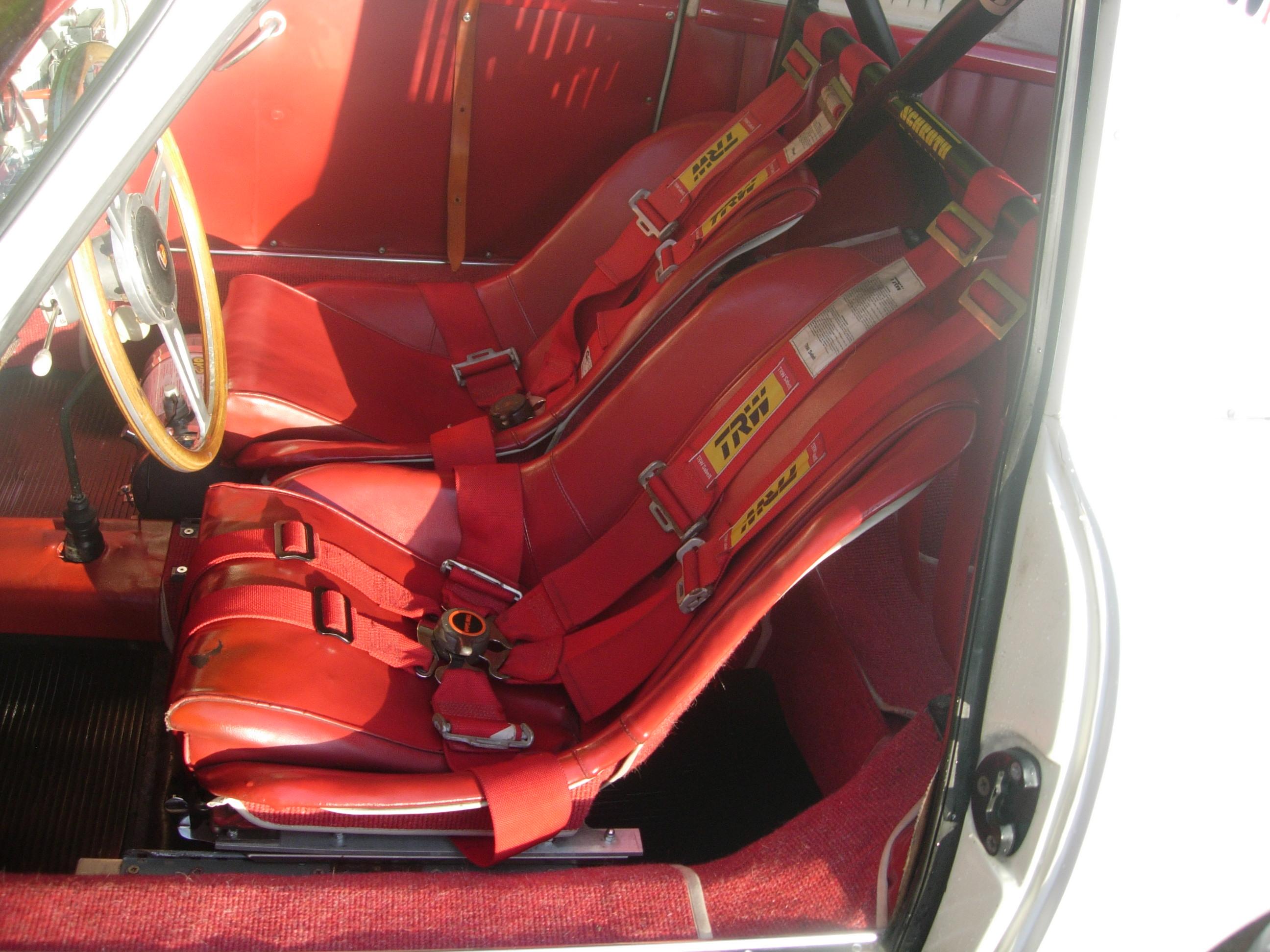 356A front seats colour