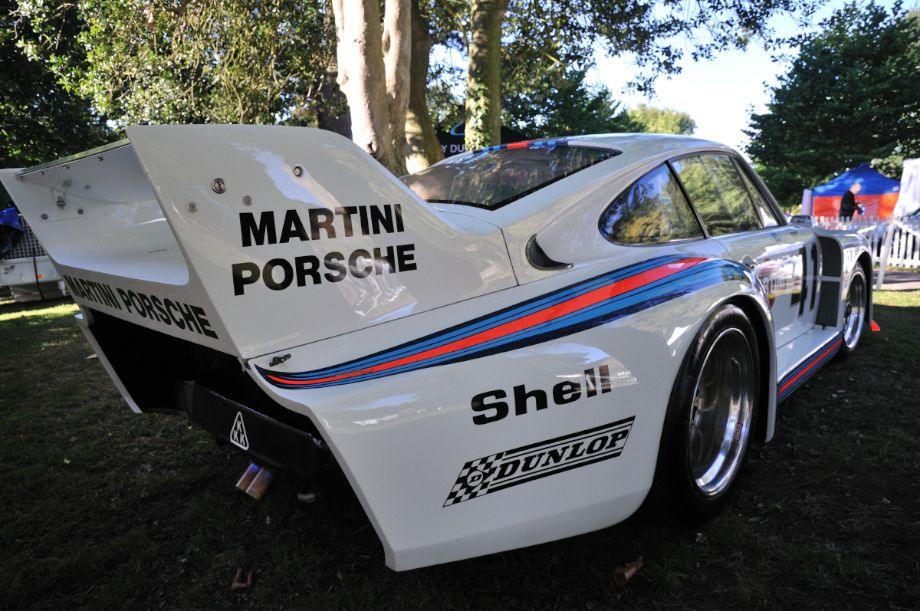 Martini Porsche 935 at Classics at the Castle