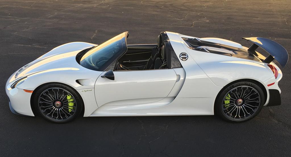 Porsche918_Side_Profile